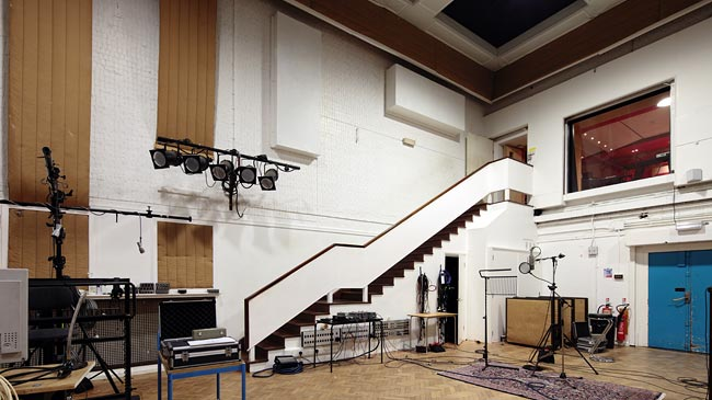 Abbey Road Studio 2 photographed by Hannes Bieger